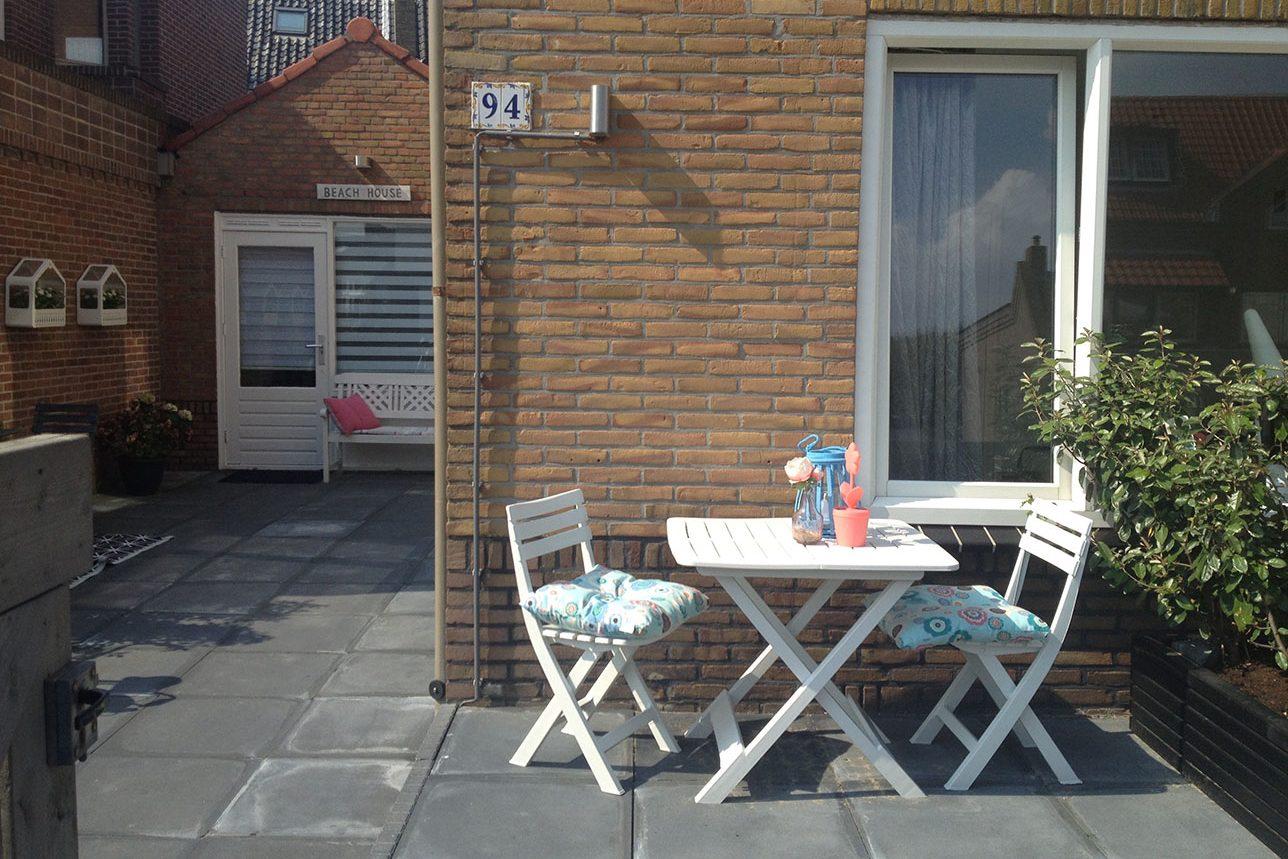 zonnig terras appartement zandvoort aan zee.nl